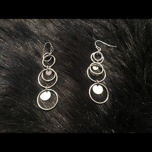 Lia Sophia Silver Earrings